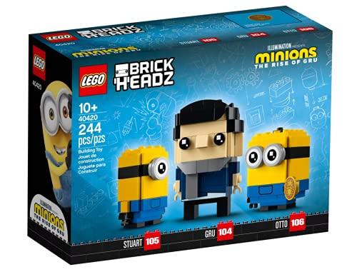 LEGO Minions Brickheadz Gru, Stuart und Otto Set 40420