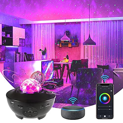 LED Sternenhimmel Projektor Alexa Kompatibel mit Alexa Google Home mit...