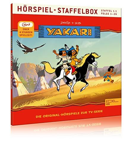 Yakari - Staffelbox 1.1 (mp3-CD) - Die...