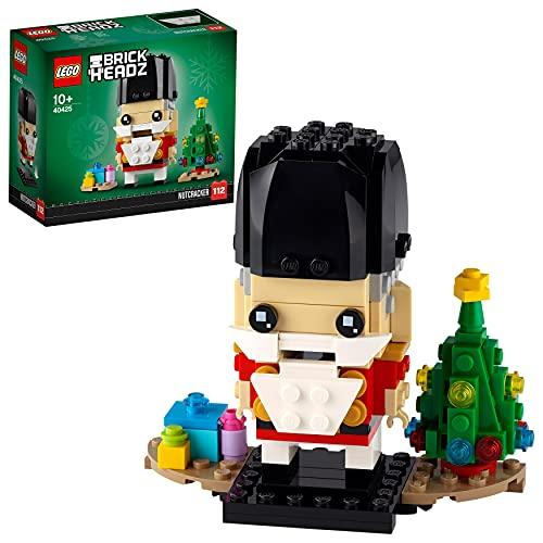 LEGO 40425 BrickHeadz Nussknacker Weihnachtsspielzeug mit...