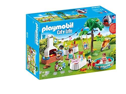 Playmobil City Life 9272 Einweihungsparty, Mit Lichteffekten, Ab 4...