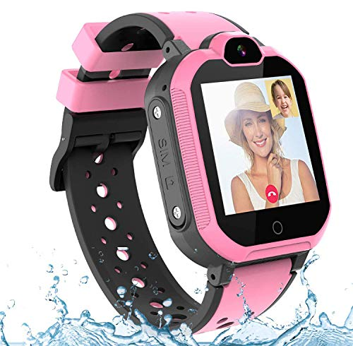 PTHTECHUS Kinder Smartwatch Wasserdicht IPX7,...