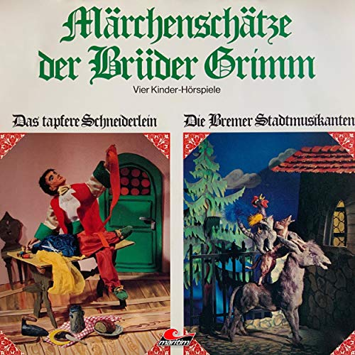 Märchenschätze der Brüder Grimm. Vier Kinder-Hörspiele: Das...