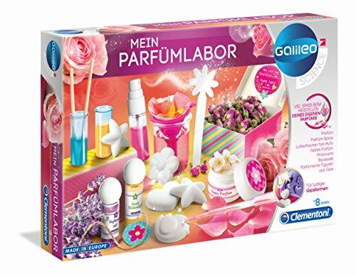 Clementoni 59070 Galileo Science – Mein Parfümlabor, wohlriechende...