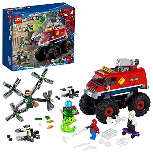 LEGO76174SuperHeroesMarvelSpider-MansMonstertruckvs.Mys...