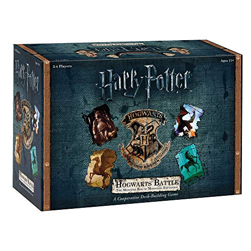 USAopoly DB010-400 Harry Potter Hogwarts Battle Deck Building Spiel,...