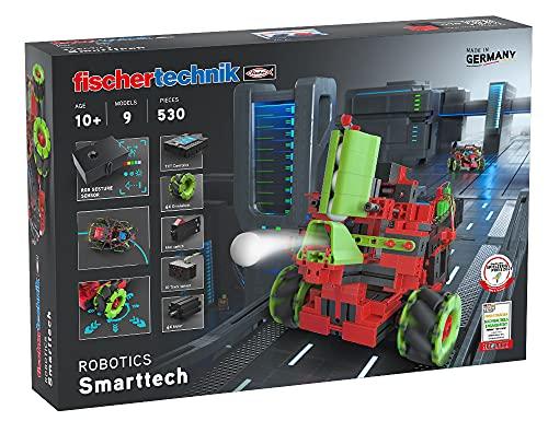 fischertechnik Bausatz Robotics Smarttech mit coolen Omniwheels - 9...