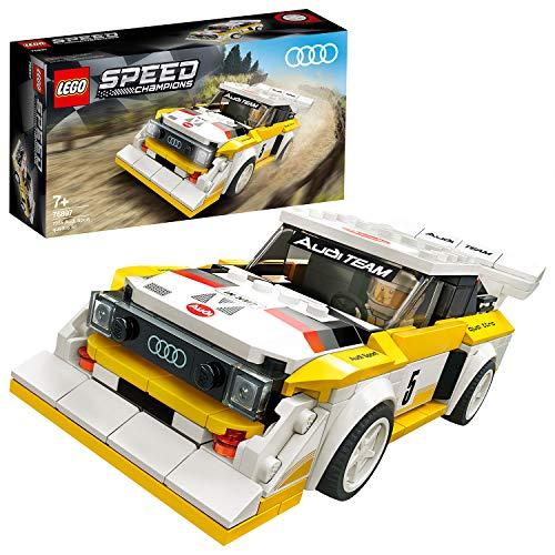 LEGO 76897 Speed Champions 1985 Audi Sport Quattro S1 Rennwagenspielzeug