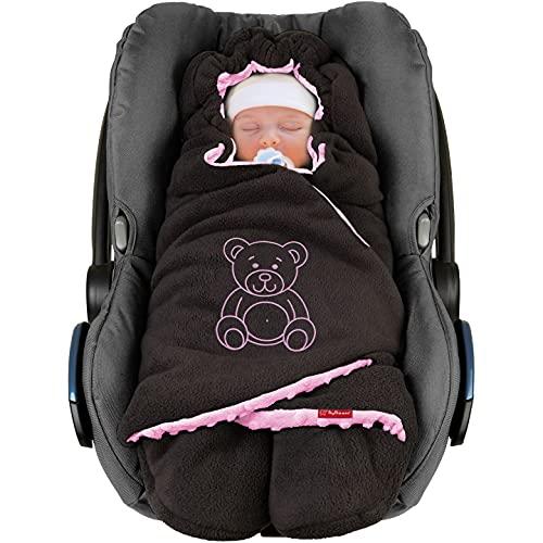 ByBoom Baby Winter-Einschlagdecke'Das Original mit dem Bären',...