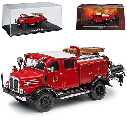 alles-meine.de GmbH Horch H3A TLF 15 Feuerwehr 1950-1958 1/72 Atlas...