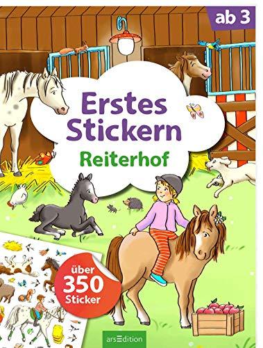 Erstes Stickern Reiterhof: Über 350 Sticker   Erstes Stickerheft für...