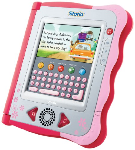 VTech Storio Pink Interactives E-Reading System mit ( Peppa Wutz...