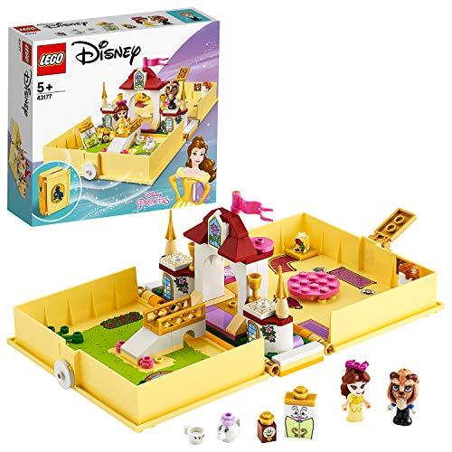 LEGO43177DisneyPrincessBellesMärchenbuchAbenteuer-Set,Sc...