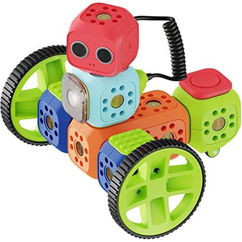 Robo Wunderkind Roboter für Kinder ab 5 Jahre – preisgekröntes Robotik-Kit zum Lernen von Programmieren...