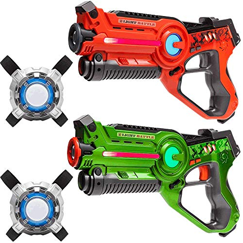Light Battle Active Lasergame Set - 2X laserpistole...