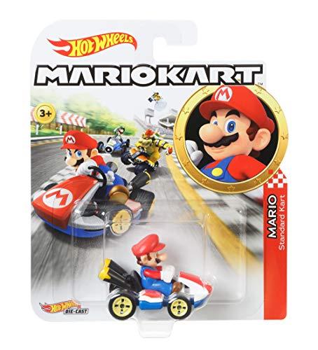 Hot Wheels GBG26 - Mario Kart Replica 1:64 Die-Cast Spielzeugauto...