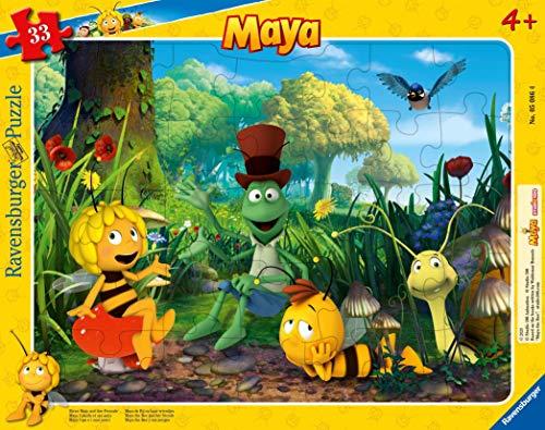 Ravensburger Kinderpuzzle - 05086 Biene Maja und ihre Freunde -...