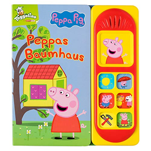 Peppa Pig - Peppas Baumhaus - Pappbilderbuch mit 7 lustigen...