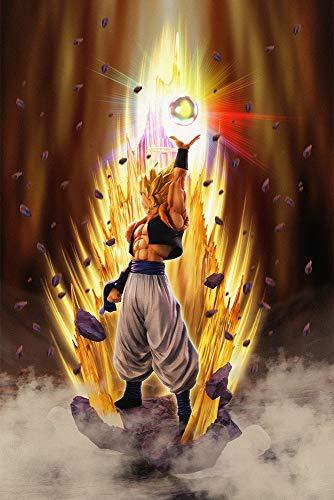 Dragon Ball Z Figur Gogeta Auferstehung 28 cm