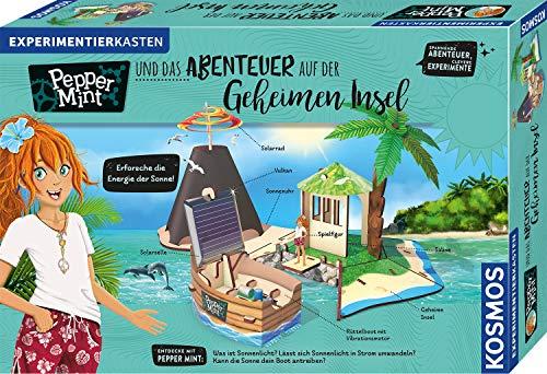KOSMOS 606084 Pepper Mint und das Abenteuer auf der Geheimen Insel, Erforsche mit Pepper die Energie der...