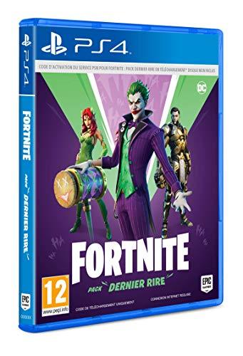 Fortnite-Pack Dernier Rire (PS4) - Code In Box