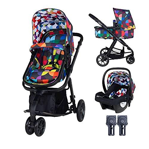 Cosatto Giggle Kinderwagen, Kinderwagen & Babyschale 2 in 1 Bundle –...