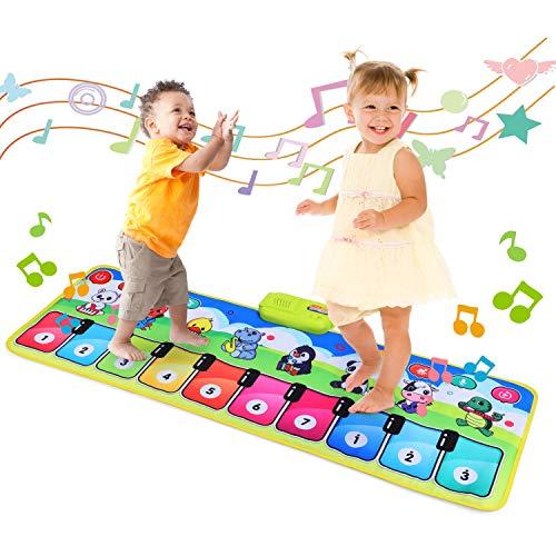 Fascol Piano Matte, Musikmatte für Kinder ab 1-5 Jahre, Klaviermatte,...