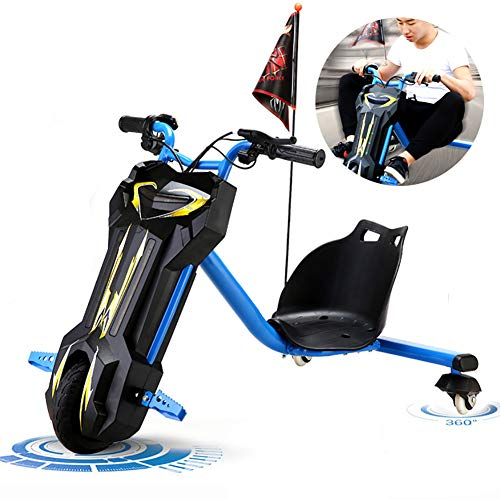 Electric Scooter Elektrische Drift-Trikes Electric Go Kart Scooter 3-Rad Aufsitzspielzeug Für Kinder Mit...