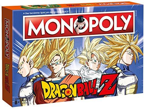 MONOPOLY Dragonball Z Edition für Fans! Die Saga rund um Son Goku,...