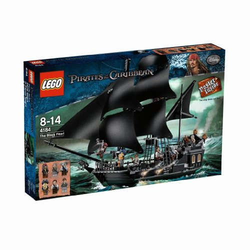 Lego Pirates of The Caribbean 4184 - Black Pearl