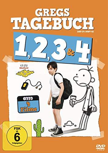 Gregs Tagebuch 1, 2, 3 & 4 [4 DVDs] *