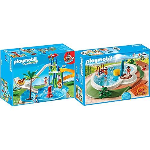 Playmobil 6669 - Aquapark mit Rutschentower & Family Fun 9422...