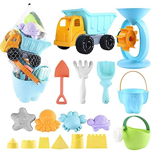 balnore Kinder Junge Mädchen Strandspielzeug, 20 Stück Sandspielzeug...