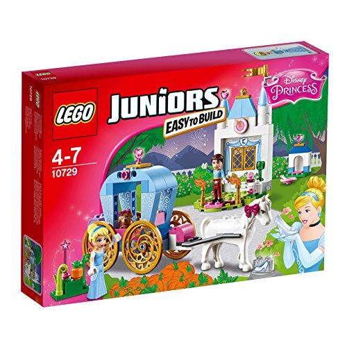 LEGO Juniors 10729 - Cinderellas Märchenkutsche, Spielzeug für vier Jährige