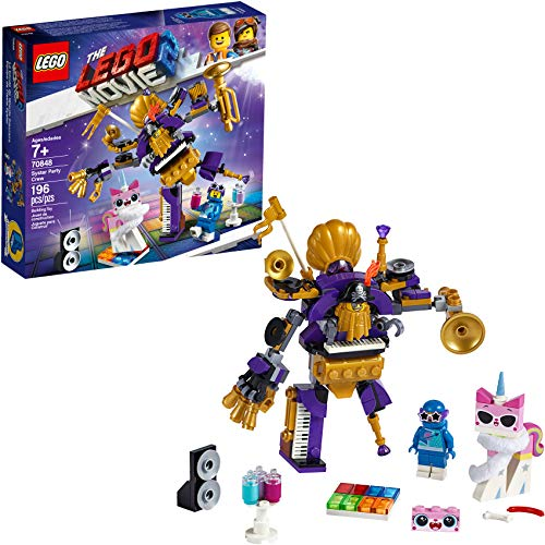 LEGO THE LEGO MOVIE 2 Systar Party Crew 70848 Building Kit, New 2019...