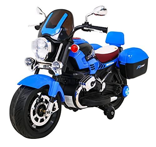 Polbaby Elektro Kindermotorrad Kinderfahrzeug Motor 1200CR Blau