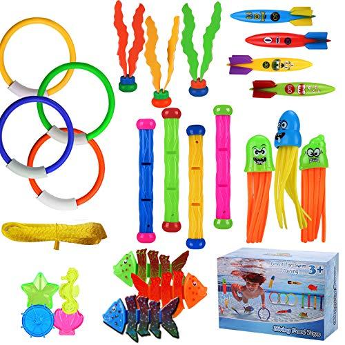 ARANEE 28 Stücke Tauchspielzeug Tauchen Spielzeug...