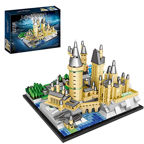 FADY Schloss Bauset, Modular Haus Kompatibel mit Lego...