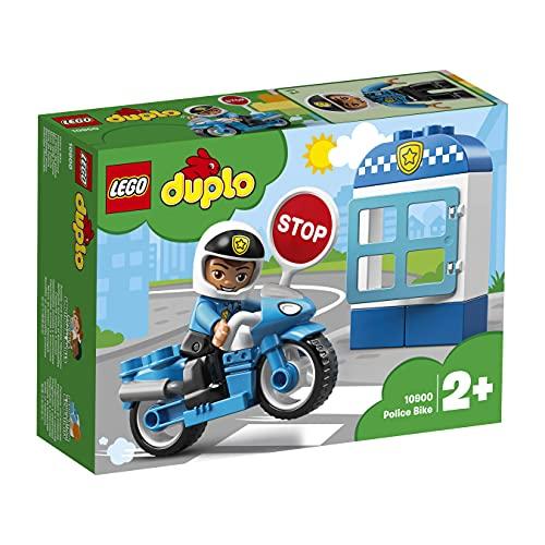 LEGO 10900 DUPLO Polizeimotorrad, Bauset mit Polizisten als Minifigur,...