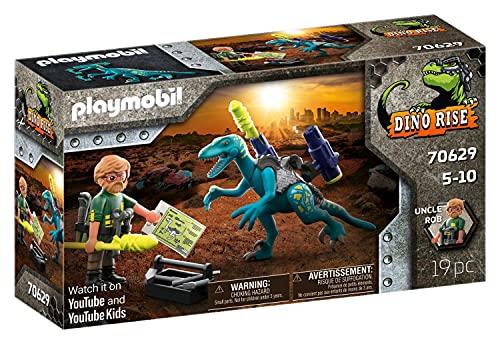 PLAYMOBIL Dino Rise 70629 Aufrüstung zum Kampf: Dinosaurier...