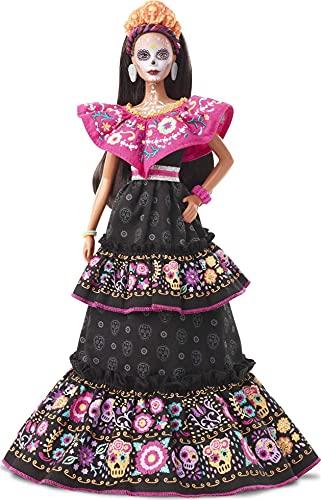 Barbie GXL27 - Signature Dia de Muertos Barbie Puppe #3, ab 6 Jahren