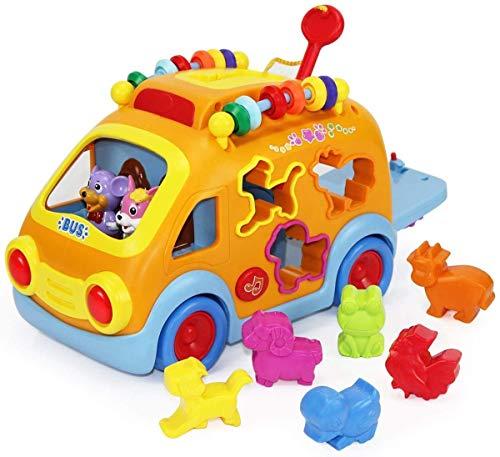 BUBHFYT Musikalisches Baby-Spielzeug für 1, 2, 3 Jahre alte...