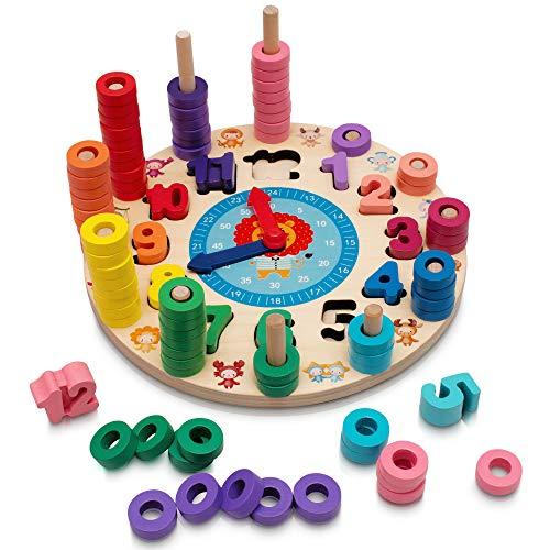 Hi!Leon 2-in-1 Montessori-Spielzeug ab 3 Jahre zum...