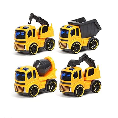 n.g. Wohnkultur 4 Stück Kinder Mini Inertia Spielzeugauto Set...
