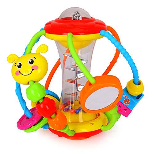 HOLA Motorikball Baby Spielzeug ab 6 Monate, Rassel Baby Greifball,...