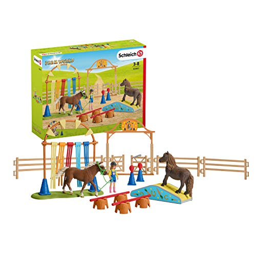 Schleich 42481 Farm World Spielset - Pony Agility...
