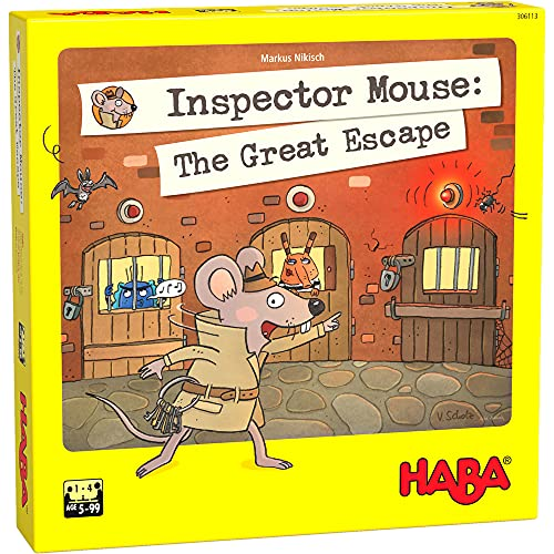 HABA 306113 Inspector Mouse: The Great Escape- Ein mousy Memory Spiel...