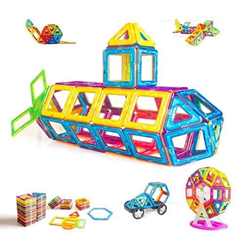 CONDIS Magnetische Bausteine 95 Teile, Magnetspielzeug Magnete Kinder...