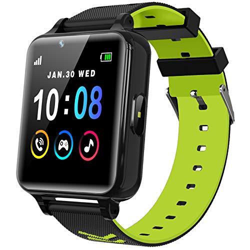 Smartwatch Kinder Telefon für Mädchen und Jungen mit Spielen Musik...