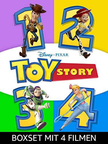Toy Story - Die 4er Film-Kollektion